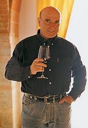 オーナーのピエール・ルイジ・トライーニ