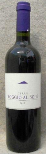 ポッジオ・アル・ソレ シラー2015