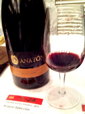 アナヨン セレクシオン2011 グランデズ ビノス イ ビニエドス