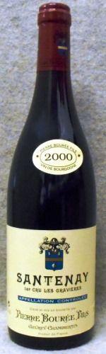 ピエール ブレ サントネイ プルミエ クリュ レ グラヴィエール 2000