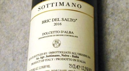 ソッティマーノ ドルチェット ダルバ ブリック デル サルト2016