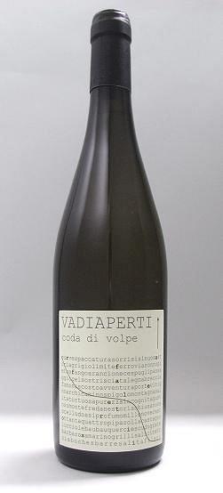 カンパーニャ白ワイン、ヴァディアペルティ・コーダ・ディ・ヴォルペ