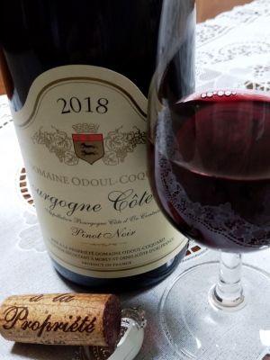 ドメーヌ オドゥール コカール ブルゴーニュ コート ドール2018