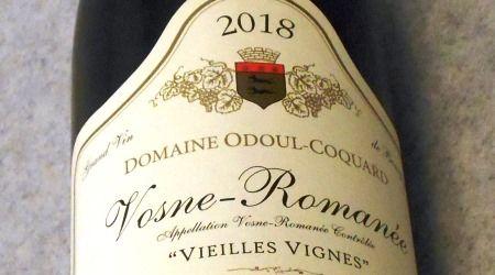 ドメーヌ オドゥール コカール ヴォーヌ ロマネ 2018