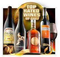 ワイン エンスージアスト2007年のトップ100にて見事第1位