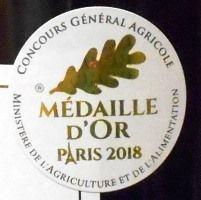 パリ農業コンクール2018金賞受賞