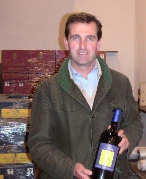 ポッジオ ア ポッピアーノのオーナー、フェデリコ ジレリ氏