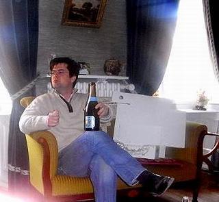 アンドレ クルエ現当主、ジャン フランソワ