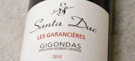 ドメーヌ・サンタ・デュック ジゴンダス・レ・ギャランシエール2010