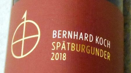 ベルンハルト コッホ シュペートブルグンダー クーベーアー トロッケン2018