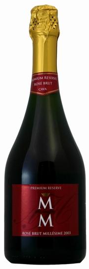 マス・デ・モニストロル カバ・プレミアム・レセルヴァ・ロゼ・ブリュット2003