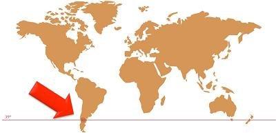 パタゴニア・マップ