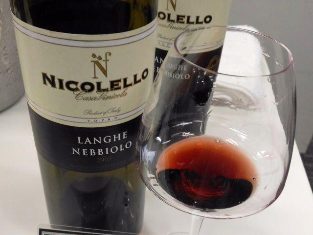 ニコレッロ ランゲ ネッビオーロ2003