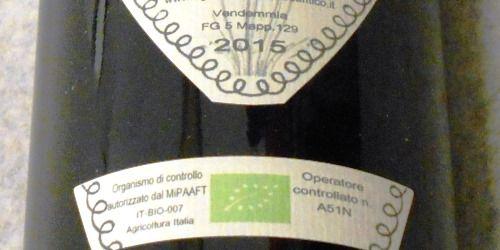 ファットリア モンド アンティコ ペルニオーネ2015