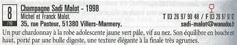 プティ プリ誌2006掲載のサディ マロ