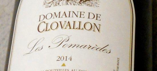 ドメーヌ ド クロヴァロン レ ポマレード2014