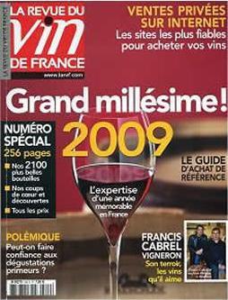 ラ・ルヴュー・デュ・ヴァン・ド・フランス誌のミレジム2009特集
