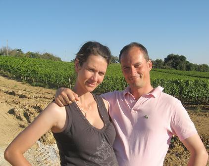 ロッカペスタのオーナー:アルベルト・タンツィーニと奥さん