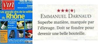 ラ・ルヴュー・デュ・ヴァン・ド・フランス 4つ星評価