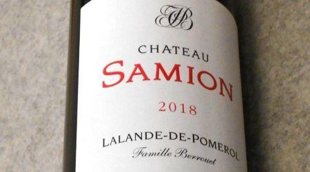 シャトー サミオン2018 ラランド ド ポムロル