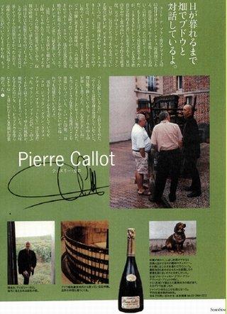 ラグジュアリー誌「SEVENSEAS」掲載のピエール・カロ