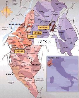 クリュ・バルバレスコ・マップ