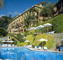 ポルトフィーノの超高級5つ星ホテル「スプレンディード」