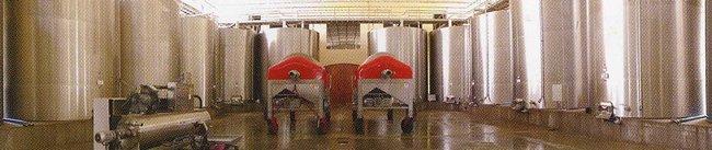 トラヴェルサの醸造タンク