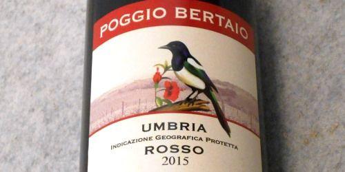 ポッジョ ベルタイオ ウンブリア ロッソ2015