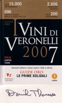 ダニエル・トマセス氏サイン入り、ヴェロネッリ2007